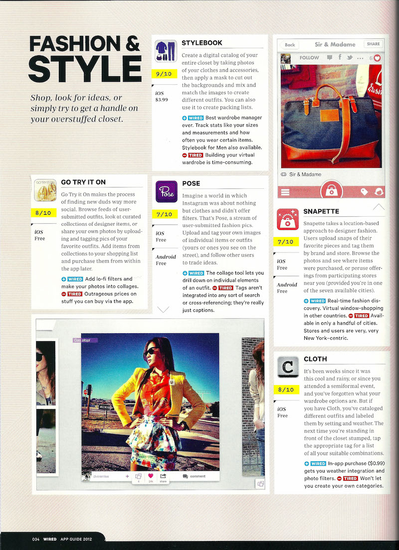Click A Magazine Cover To Read Reviews Of Stylebook! Stylebook Closet App:  Press The Beginner's Guide: How To Make An App