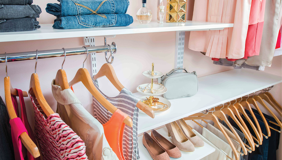 Tips For Your Real Closet From Organized Living®