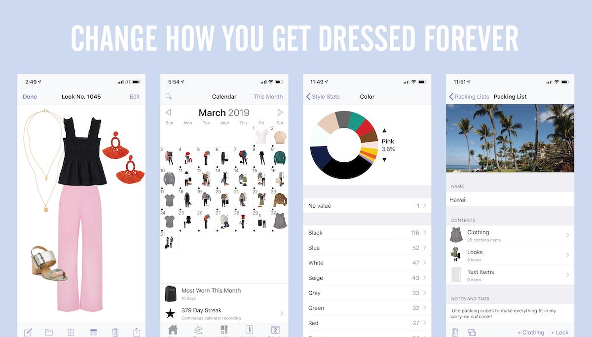 Stylebook Closet App: a closet and wardrobe fashion app for