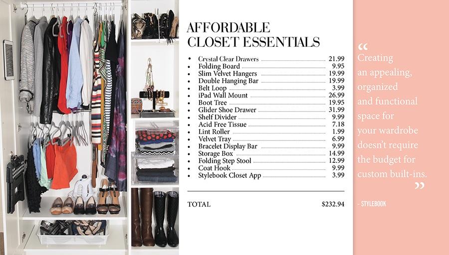 Stylebook Closet App Makeover 9 Tips To Make Over A Small
