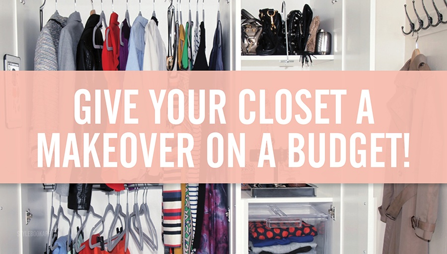 Stylebook Closet App: Closet Makeover: 9 Tips To Make Over A Small Closet  On A Budget