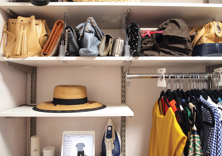 I Used To Think That A Million Matching Storage Bins Would Transform My Real Life  Closet, But It Turns Out The Key Is Giving Each Type Of Clothing Its Own ...