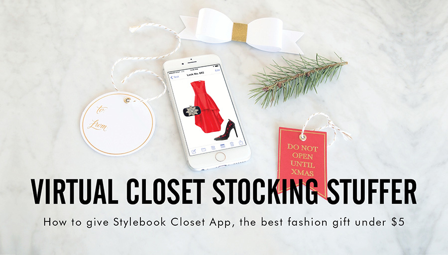 Wonderful Best Fashion Gift Under $5: Give A Real Life Virtual Closet As A Gift