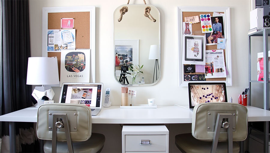 Stylebook Closet App How to Decorate Your Office Peek into the