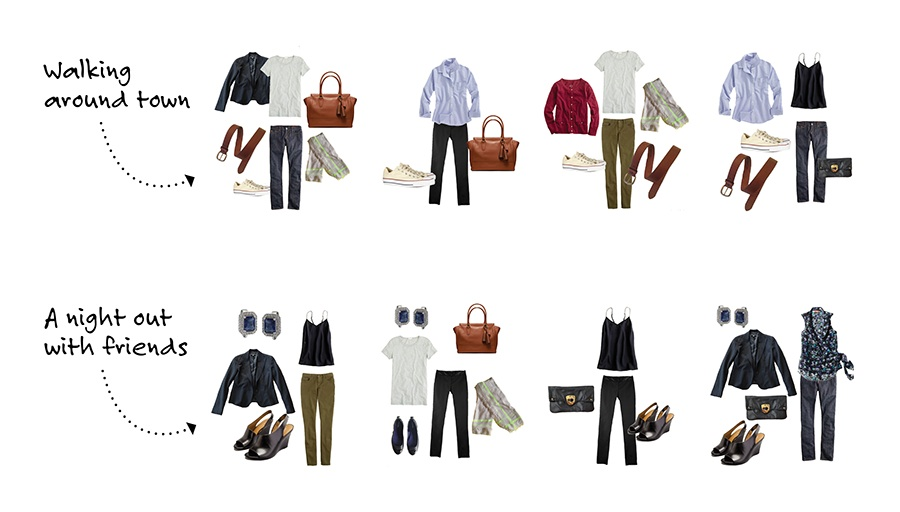 Stylebook Closet App Packing Lists 8 Tips To Pack 20 Outfits In One Carry On
