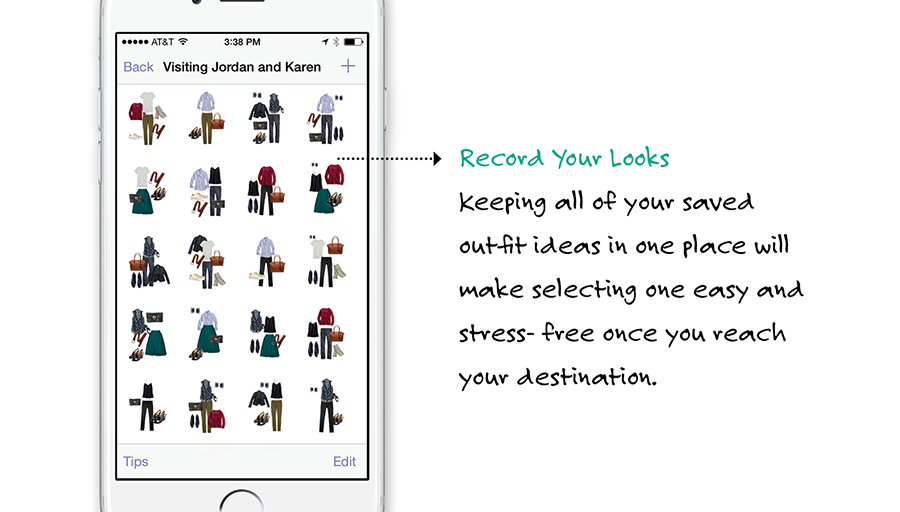 Stylebook Closet App Packing Lists  Tips To Pack  Outfits In