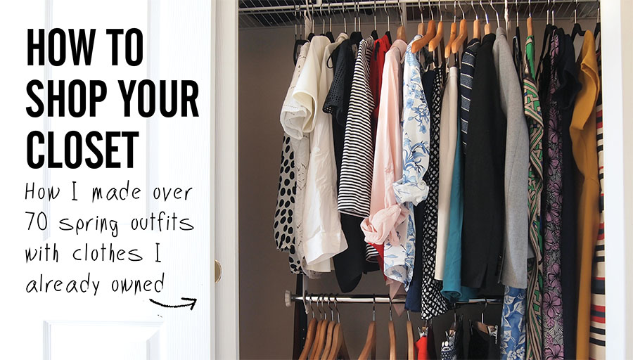Nice Stylebook Closet App: How To Shop Your Closet: The Amazing Spring Outfits  You Already Own