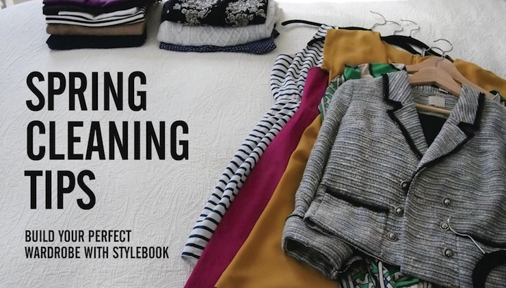 stylebook closet app: spring cleaning: 8 tips to clean out your closet