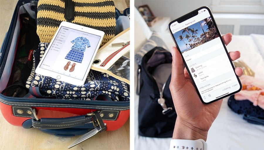 Stylebook Closet App: How I Pack with Stylebook App